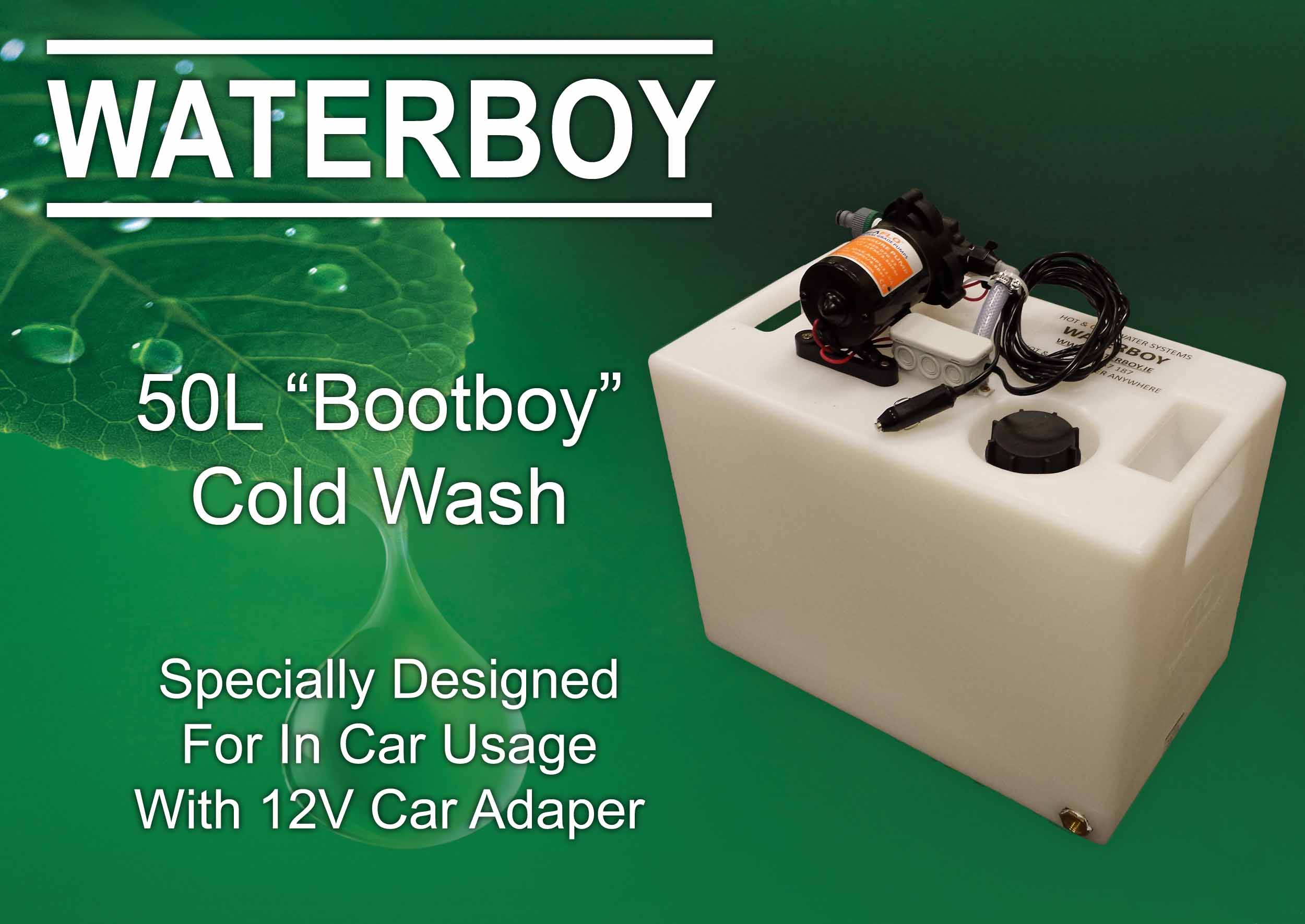 Boot Boy Cold Wash
